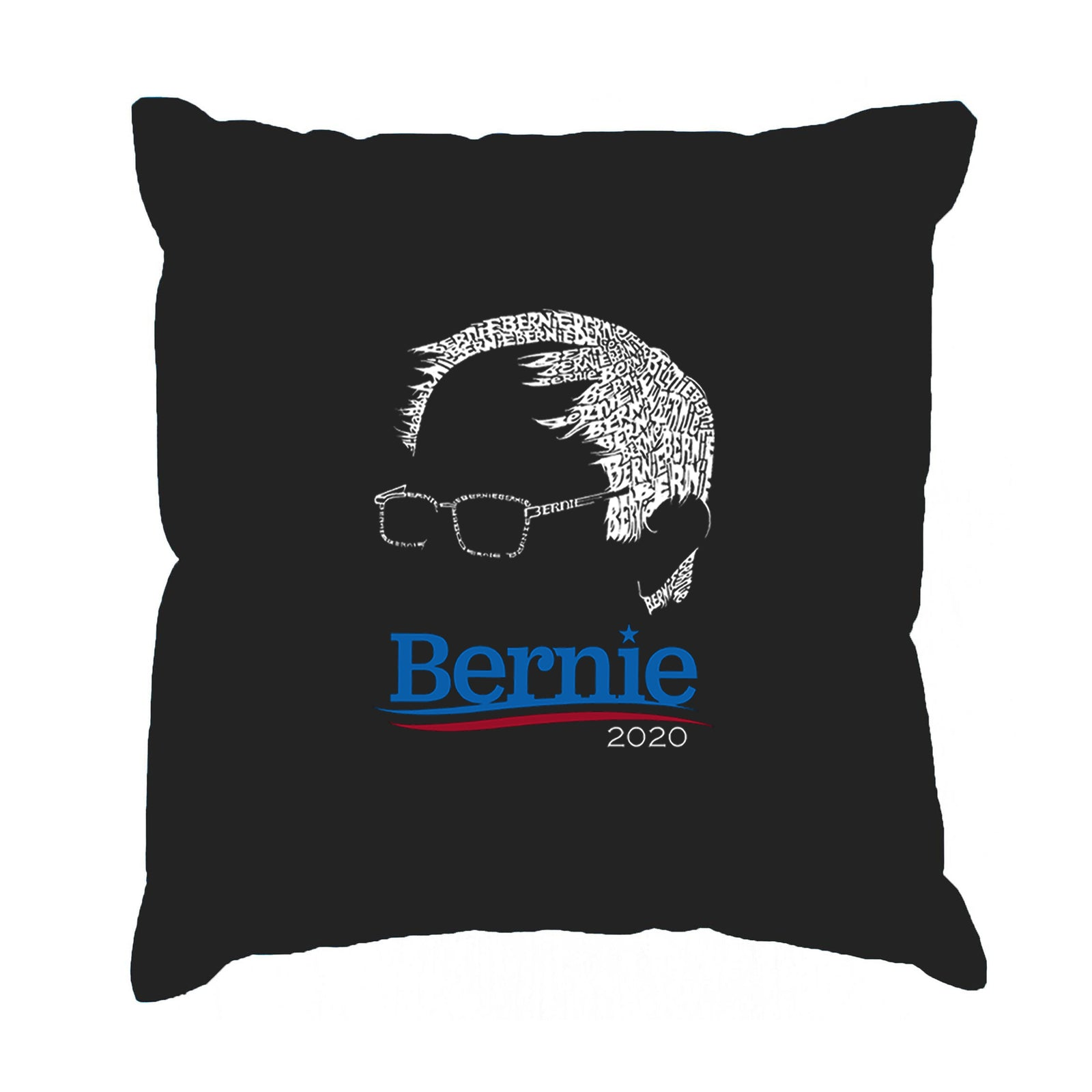 Throw Pillow Cover - Word Art - BERNIE