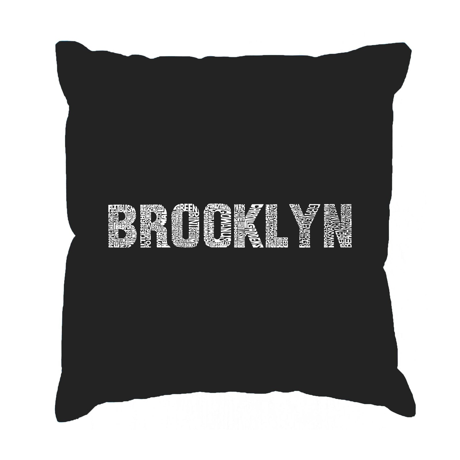 Throw Pillow Cover - BROOKLYN NEIGHBORHOODS