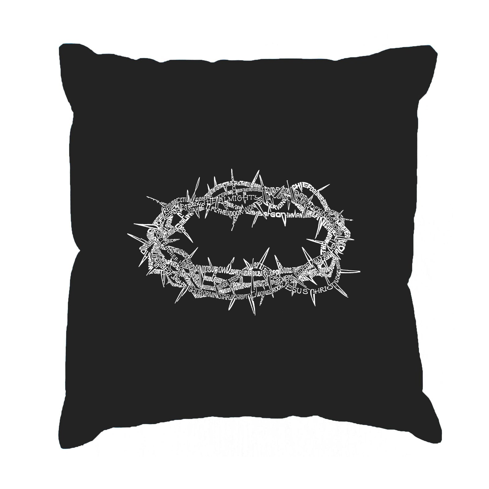 Throw Pillow Cover - CROWN OF THORNS