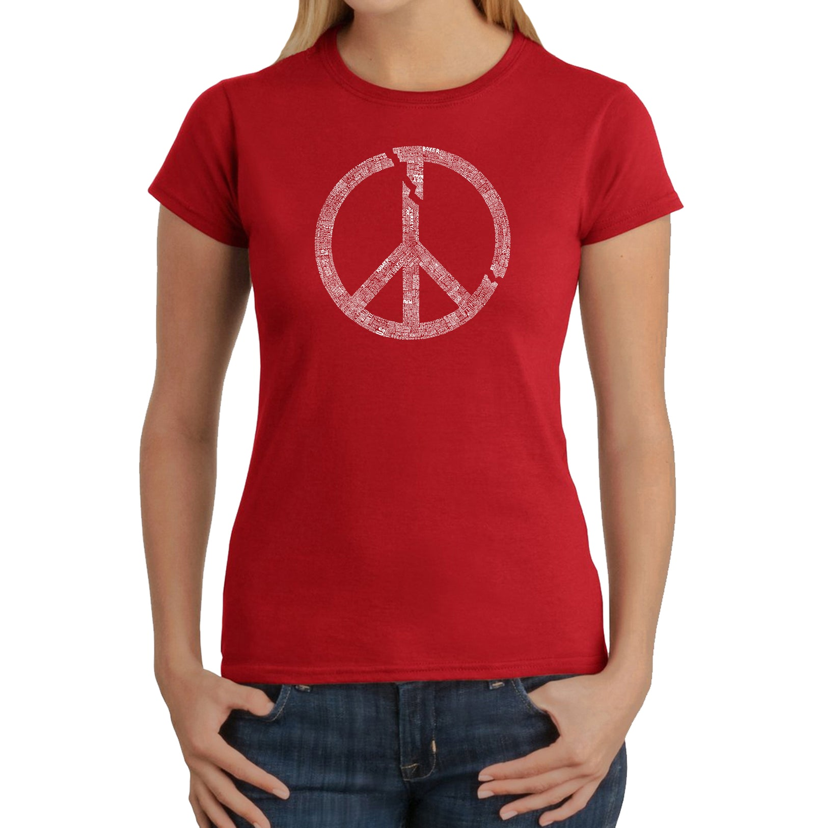 Women's T-Shirt - EVERY MAJOR WORLD CONFLICT SINCE 1770