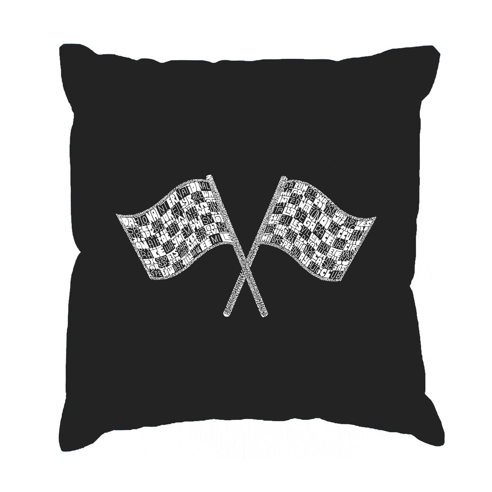 Throw Pillow Cover - NASCAR NATIONAL SERIES RACE TRACKS