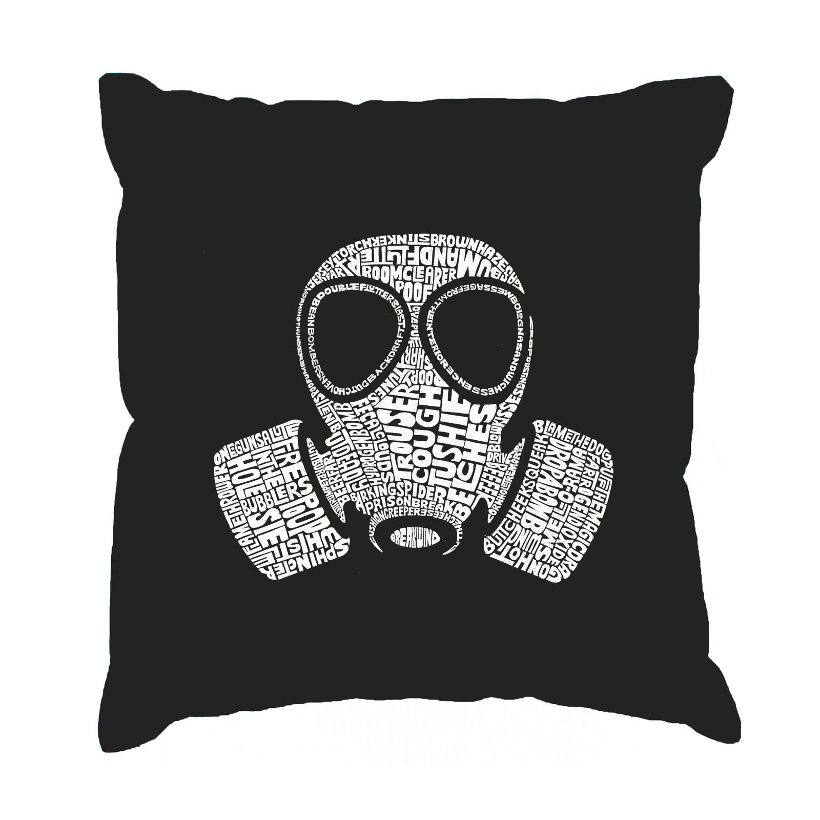 "Throw Pillow Cover - SLANG TERM FOR ""FART"""