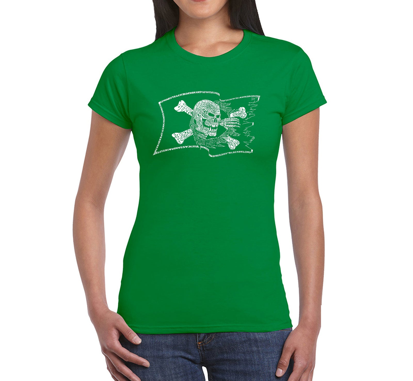 Women's T-Shirt - FAMOUS PIRATE CAPTAINS AND SHIPS