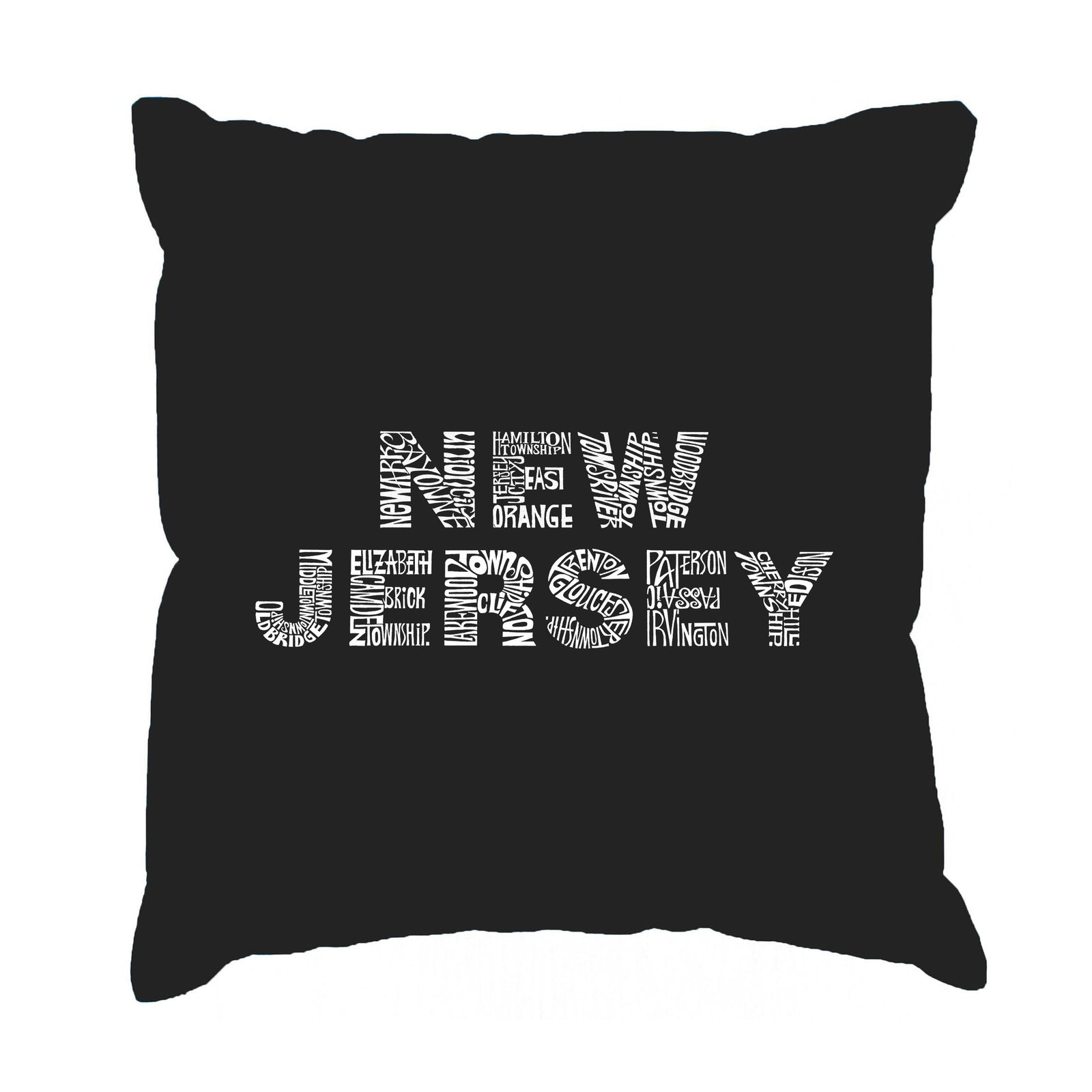Throw Pillow Cover - NEW JERSEY NEIGHBORHOODS