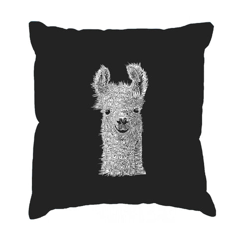 Throw Pillow Cover - KEEP ON TRUCKIN'