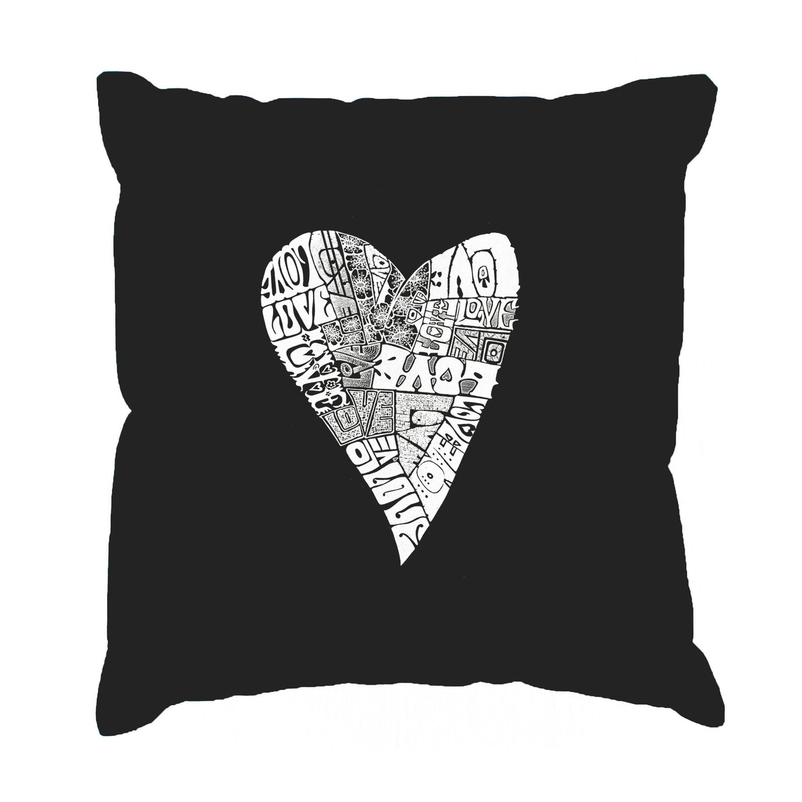 Throw Pillow Cover - Lots of Love