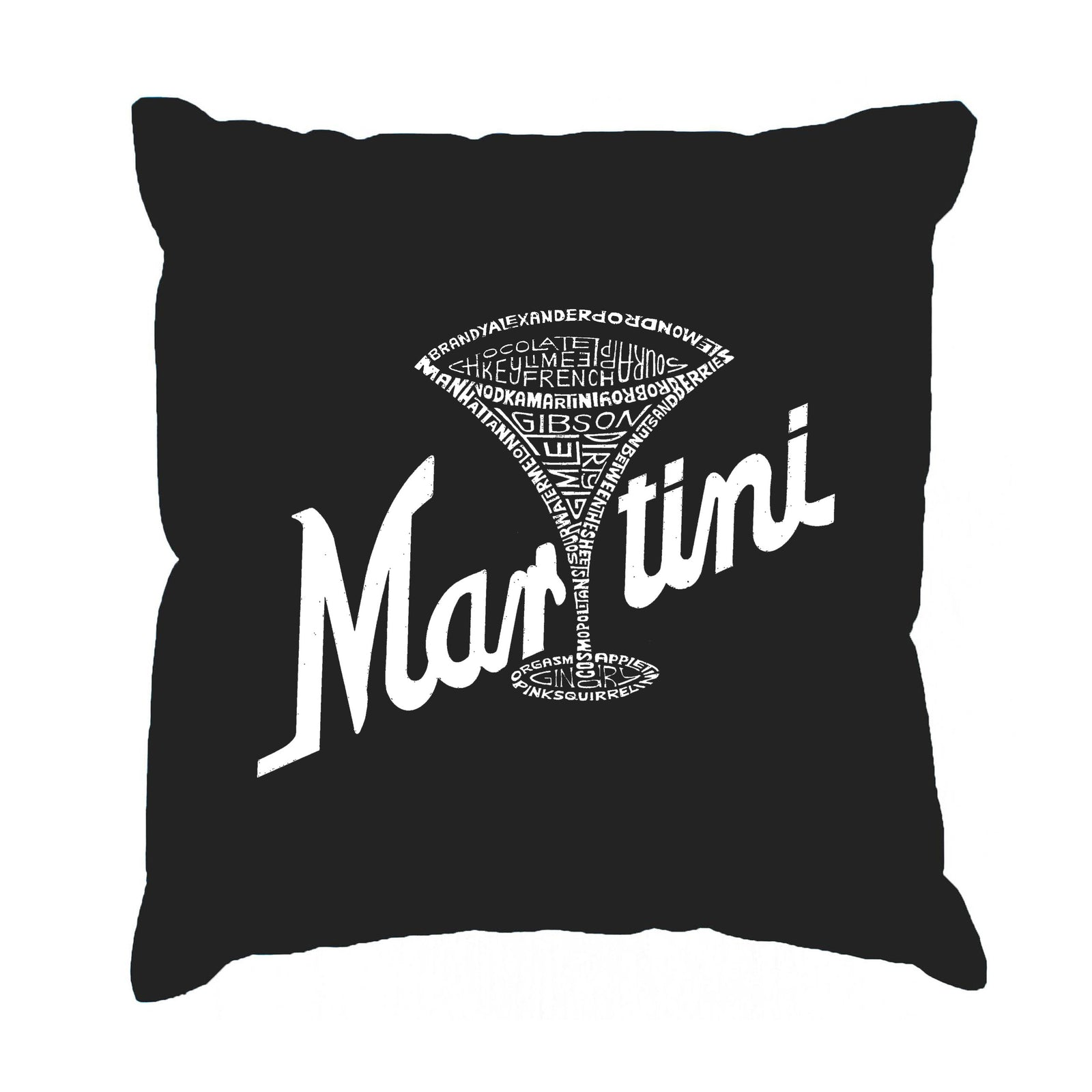 Throw Pillow Cover - Martini