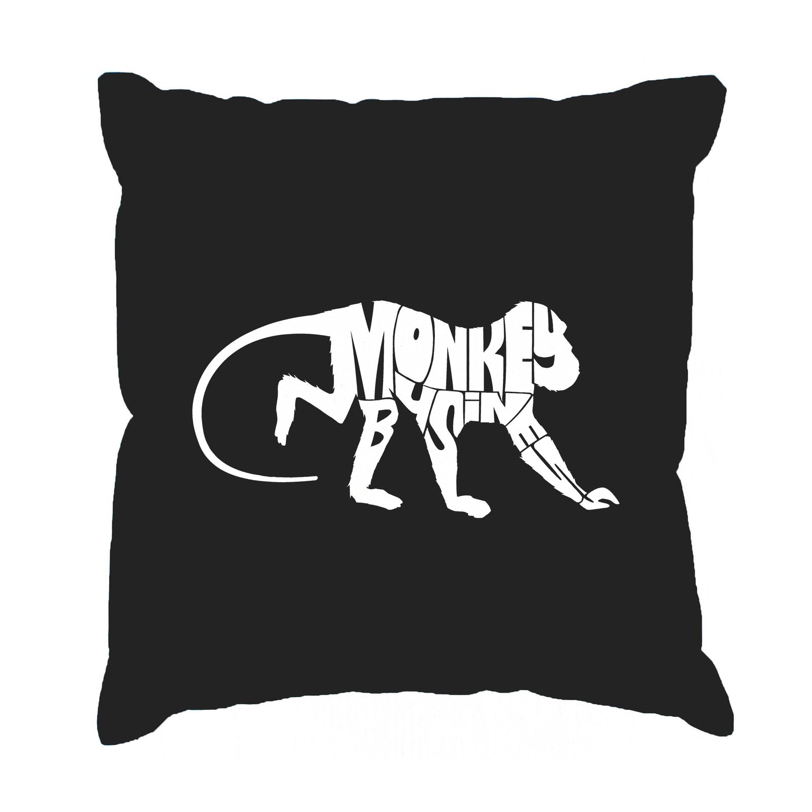 Throw Pillow Cover - Monkey Business