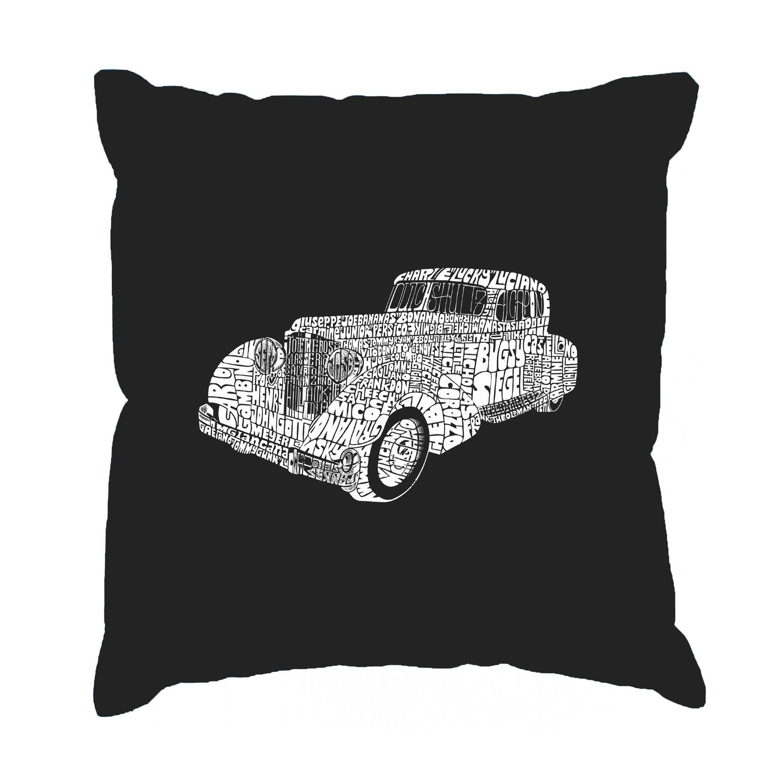 Throw Pillow Cover - Mobsters