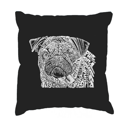 Throw Pillow Cover - BAT - BITE ME