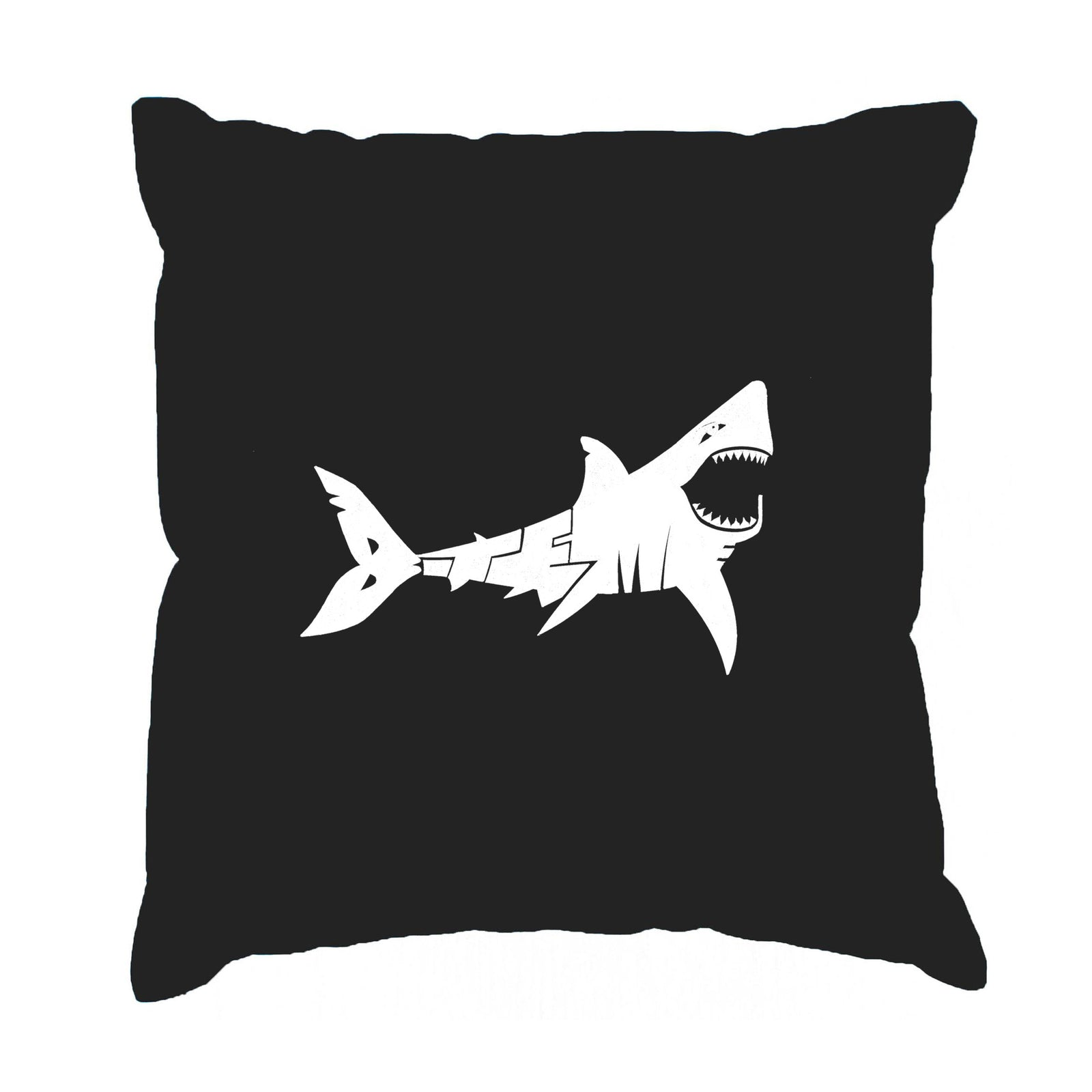 Throw Pillow Cover - BITE ME