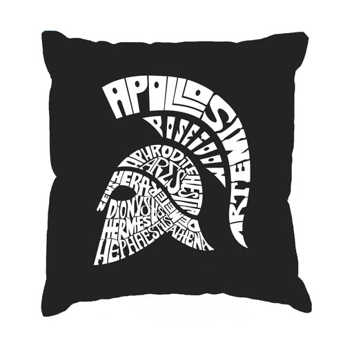 Throw Pillow Cover - SPARTAN