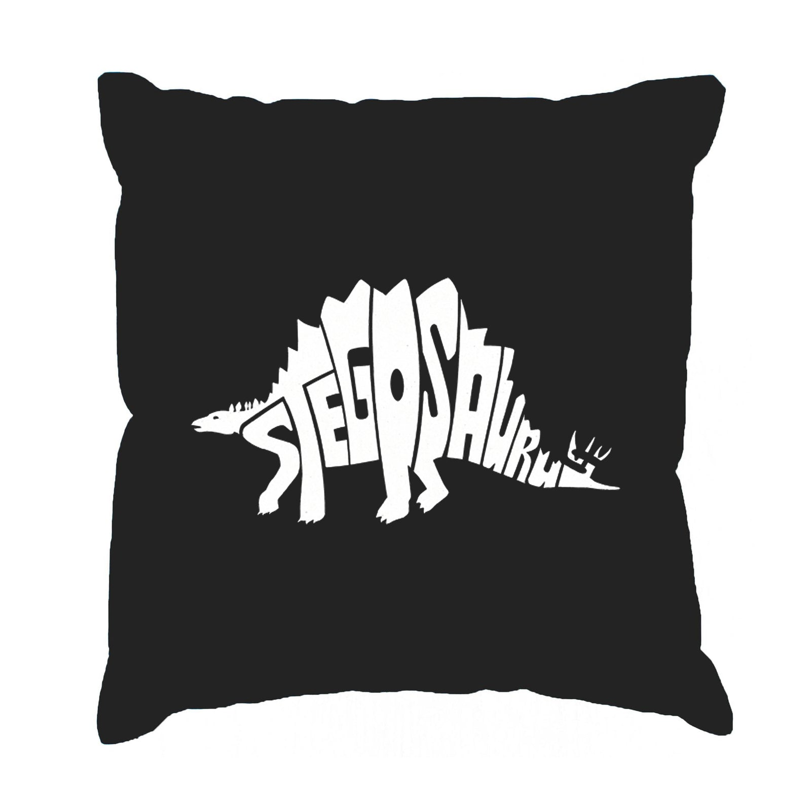 Throw Pillow Cover - STEGOSAURUS