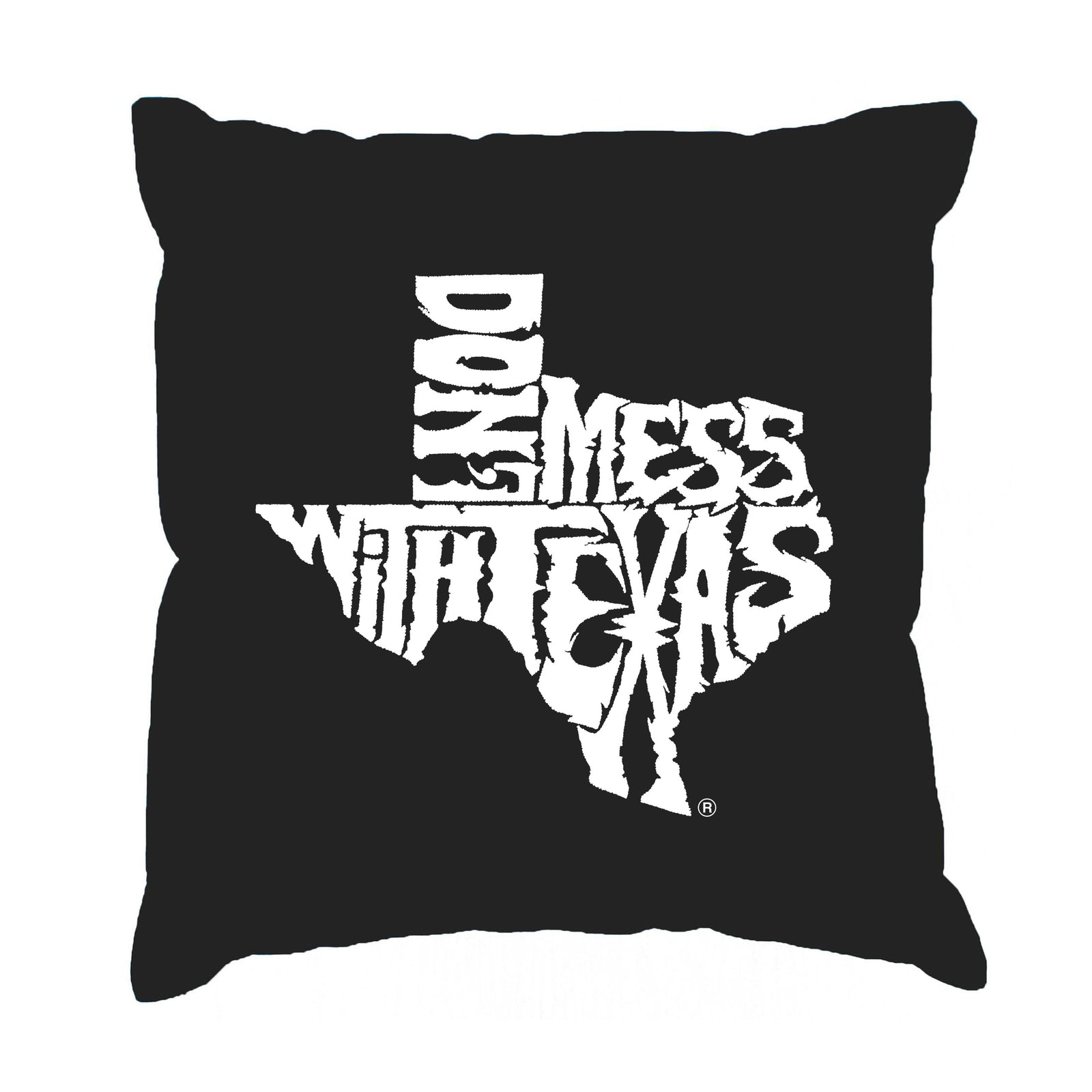 Throw Pillow Cover - DONT MESS WITH TEXAS