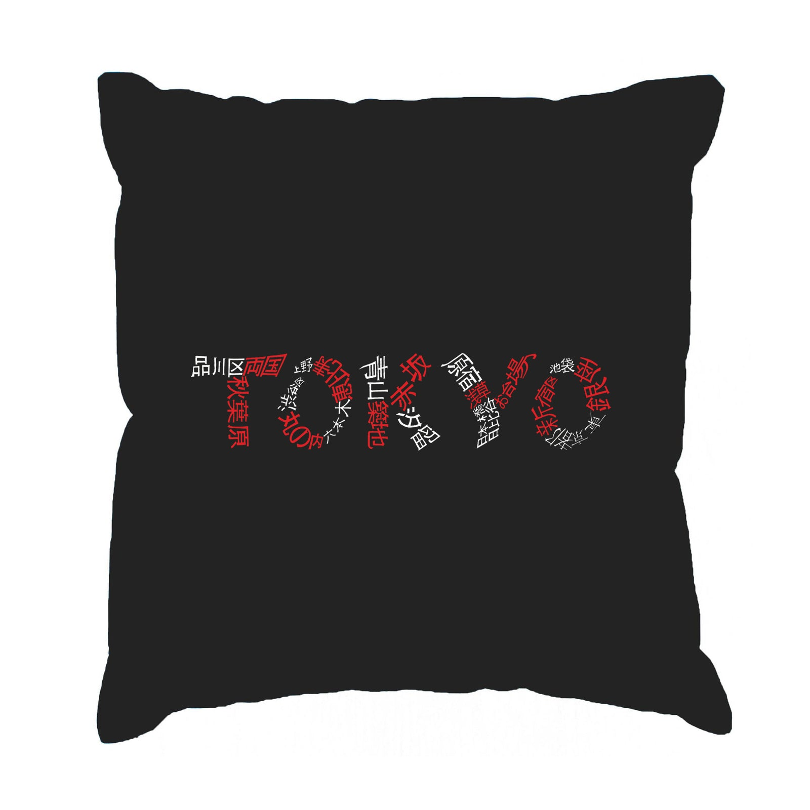 Throw Pillow Cover - THE NEIGHBORHOODS OF TOKYO