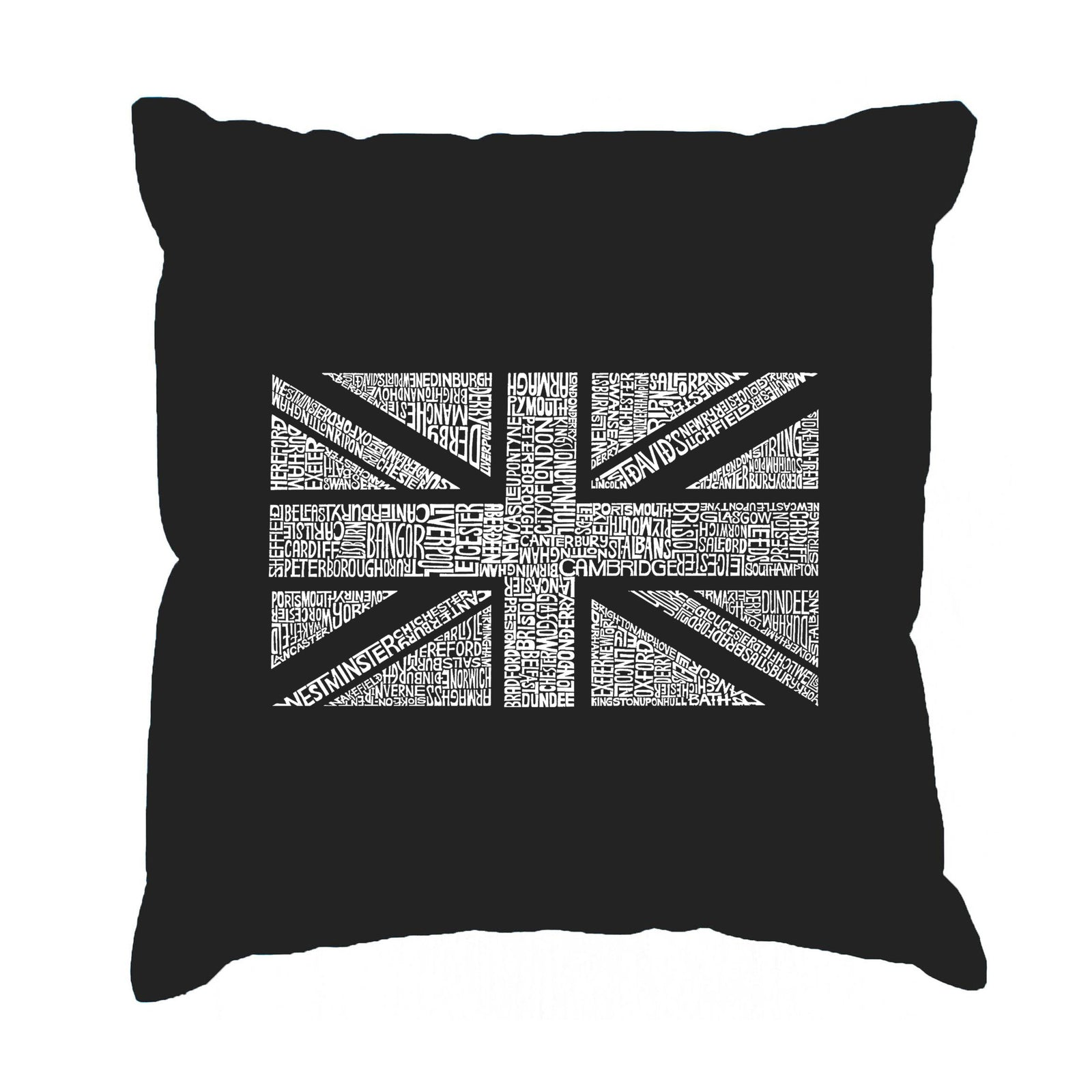 Throw Pillow Cover - UNION JACK