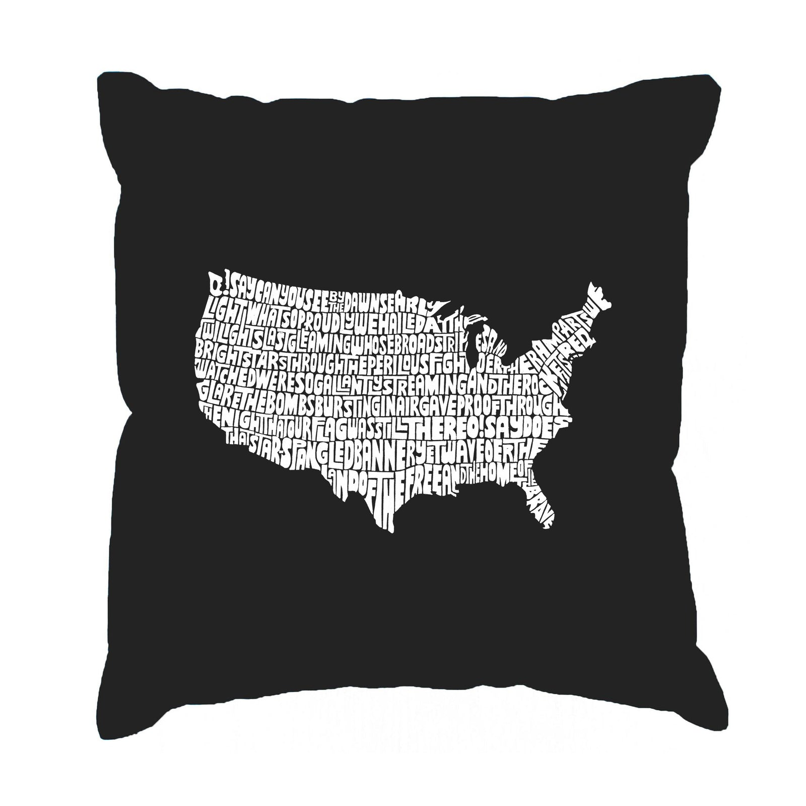 Throw Pillow Cover - THE STAR SPANGLED BANNER