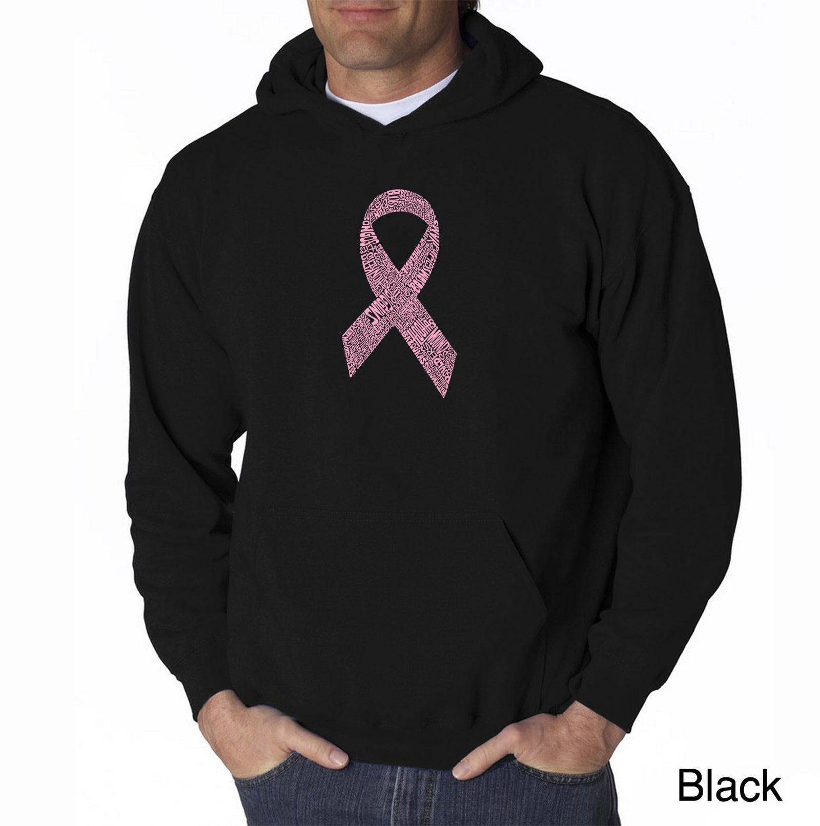Men's Hooded Sweatshirt - CREATED OUT OF 50 SLANG TERMS FOR BREASTS
