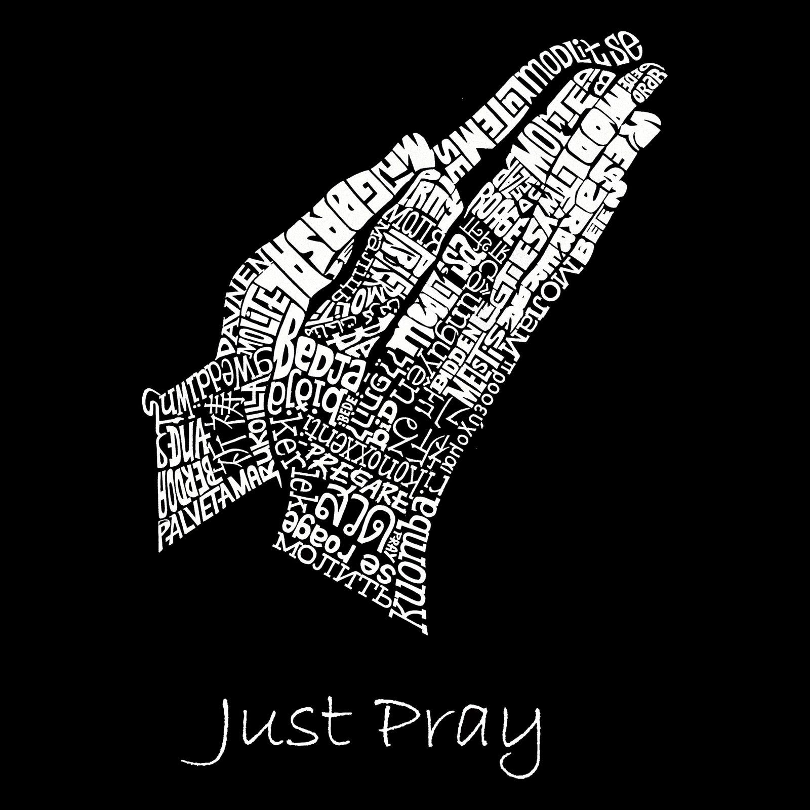 Boy's T-shirt - Prayer Hands