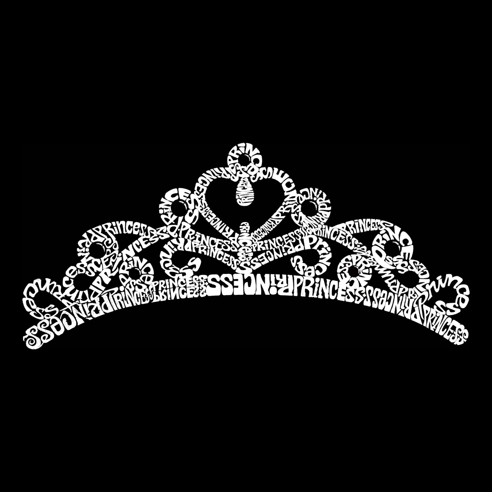Men's Sleeveless T-shirt - Princess Tiara