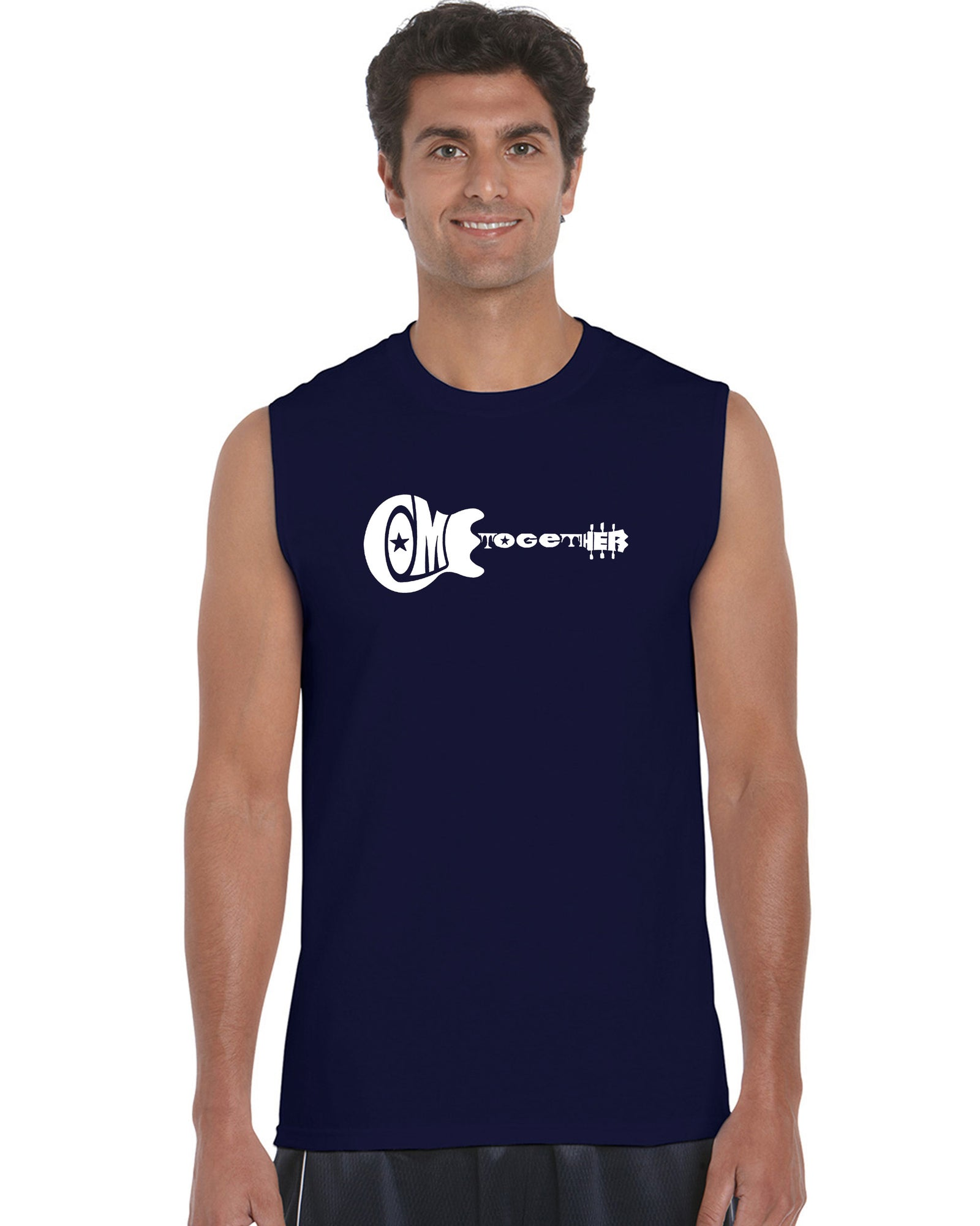 Men's Sleeveless T-shirt - COME TOGETHER