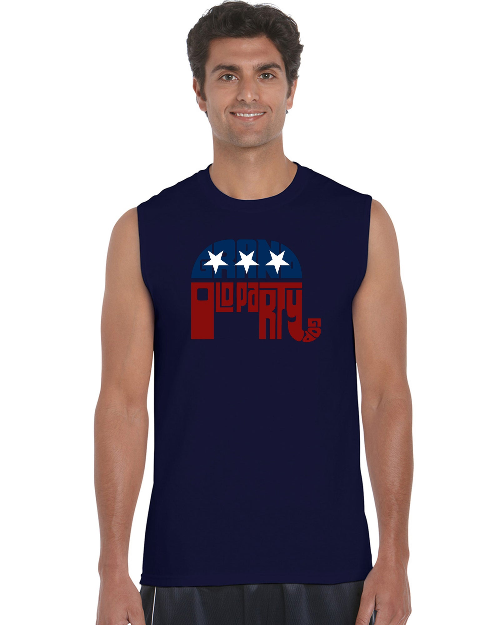 Men's Sleeveless T-shirt - REPUBLICAN - GRAND OLD PARTY