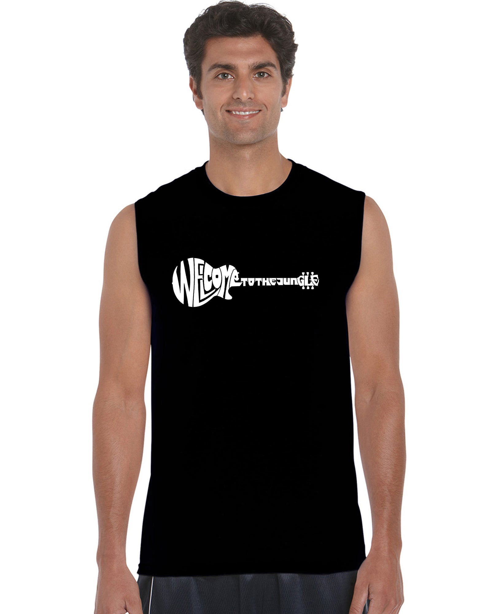 Men's Sleeveless T-shirt - Welcome to the Jungle