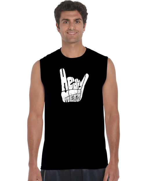Men's Sleeveless T-shirt - Heavy Metal