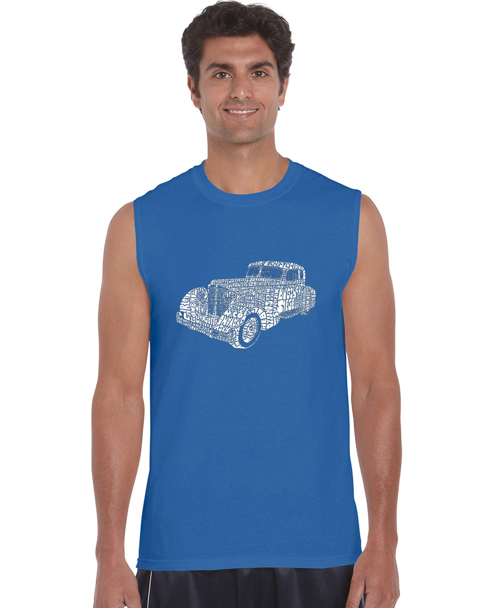 Men's Sleeveless T-shirt - Mobsters