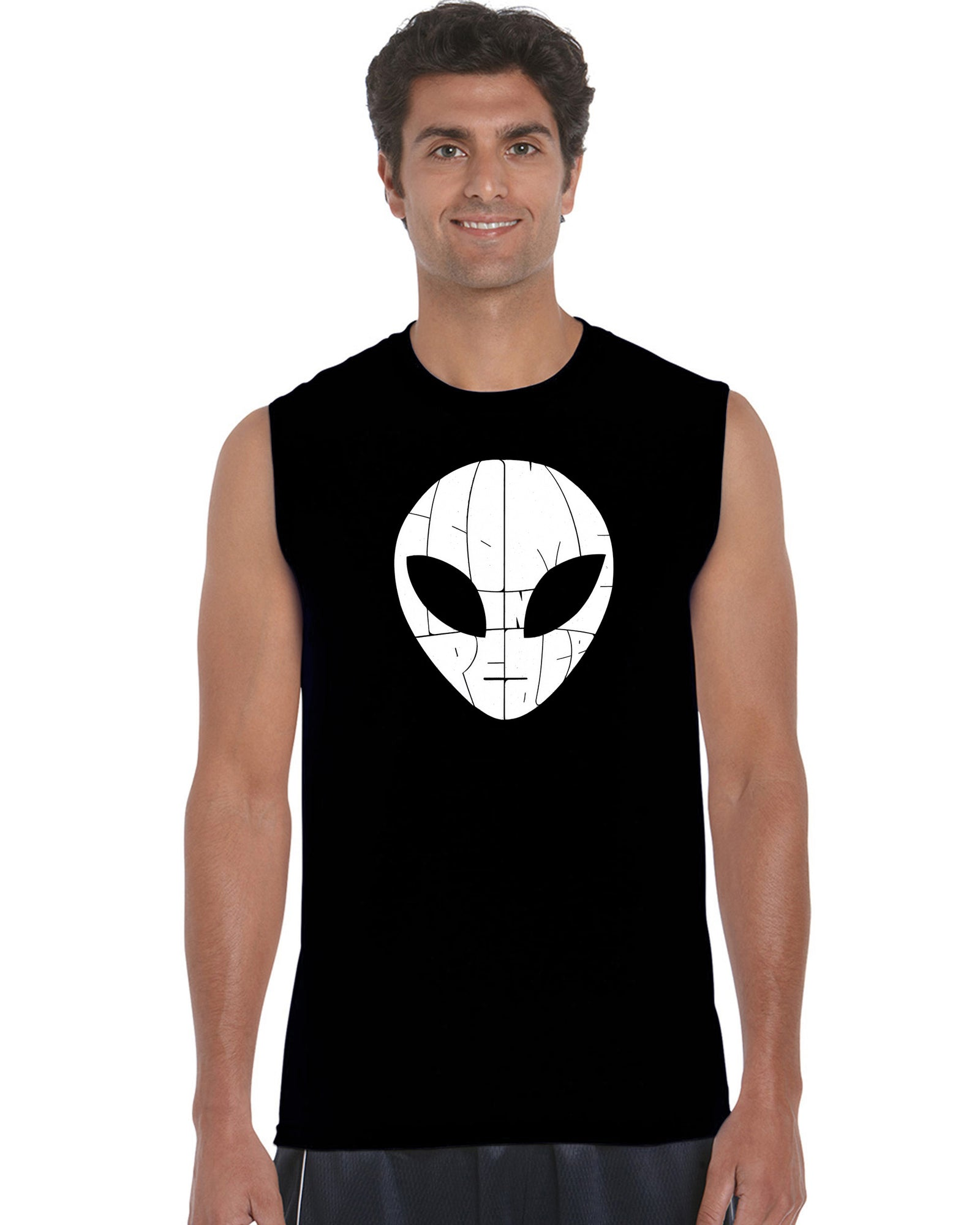 Men's Sleeveless T-shirt - I COME IN PEACE