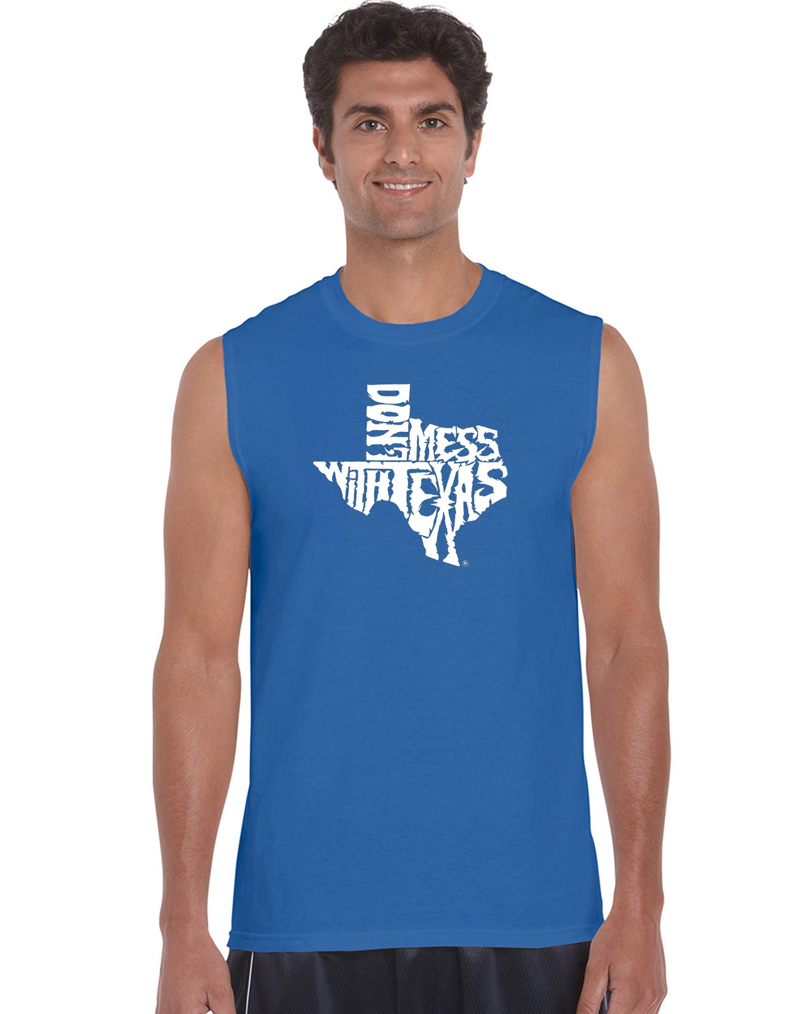 Men's Sleeveless T-shirt - DONT MESS WITH TEXAS