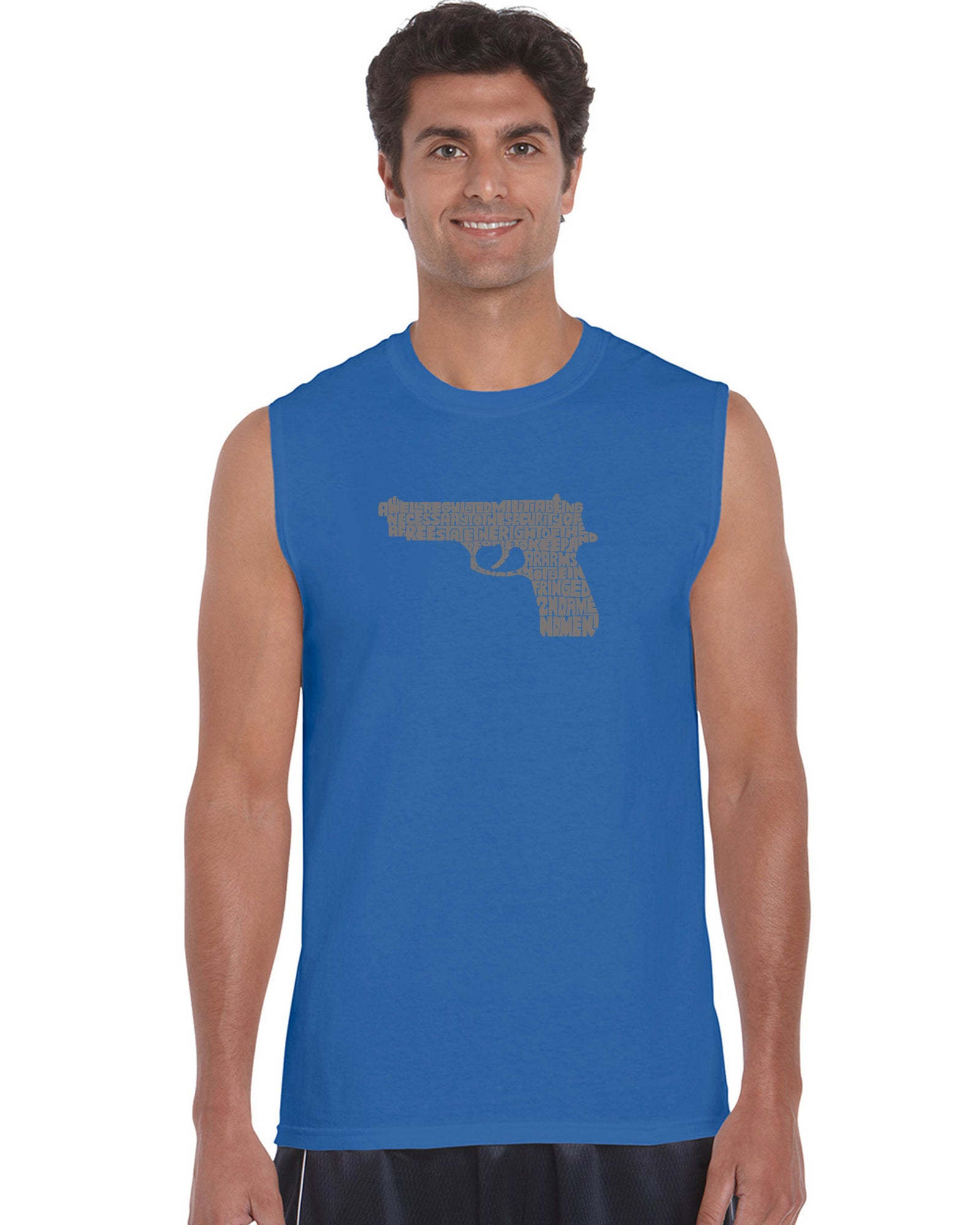 Men's Sleeveless T-shirt - RIGHT TO BEAR ARMS