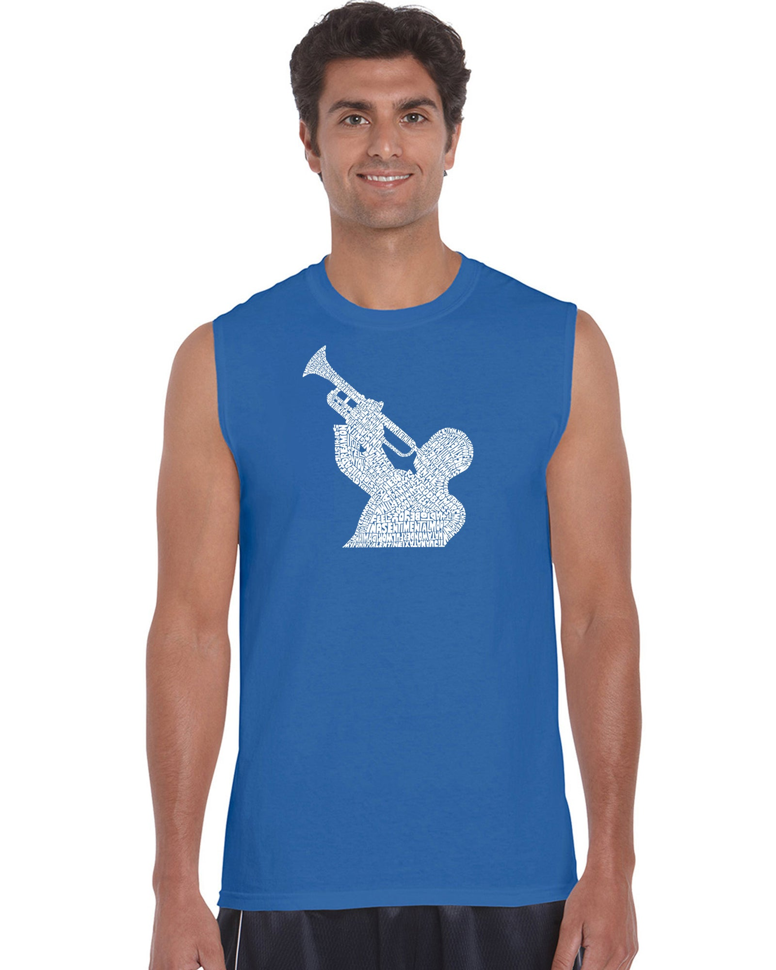 Men's Sleeveless T-shirt - ALL TIME JAZZ SONGS