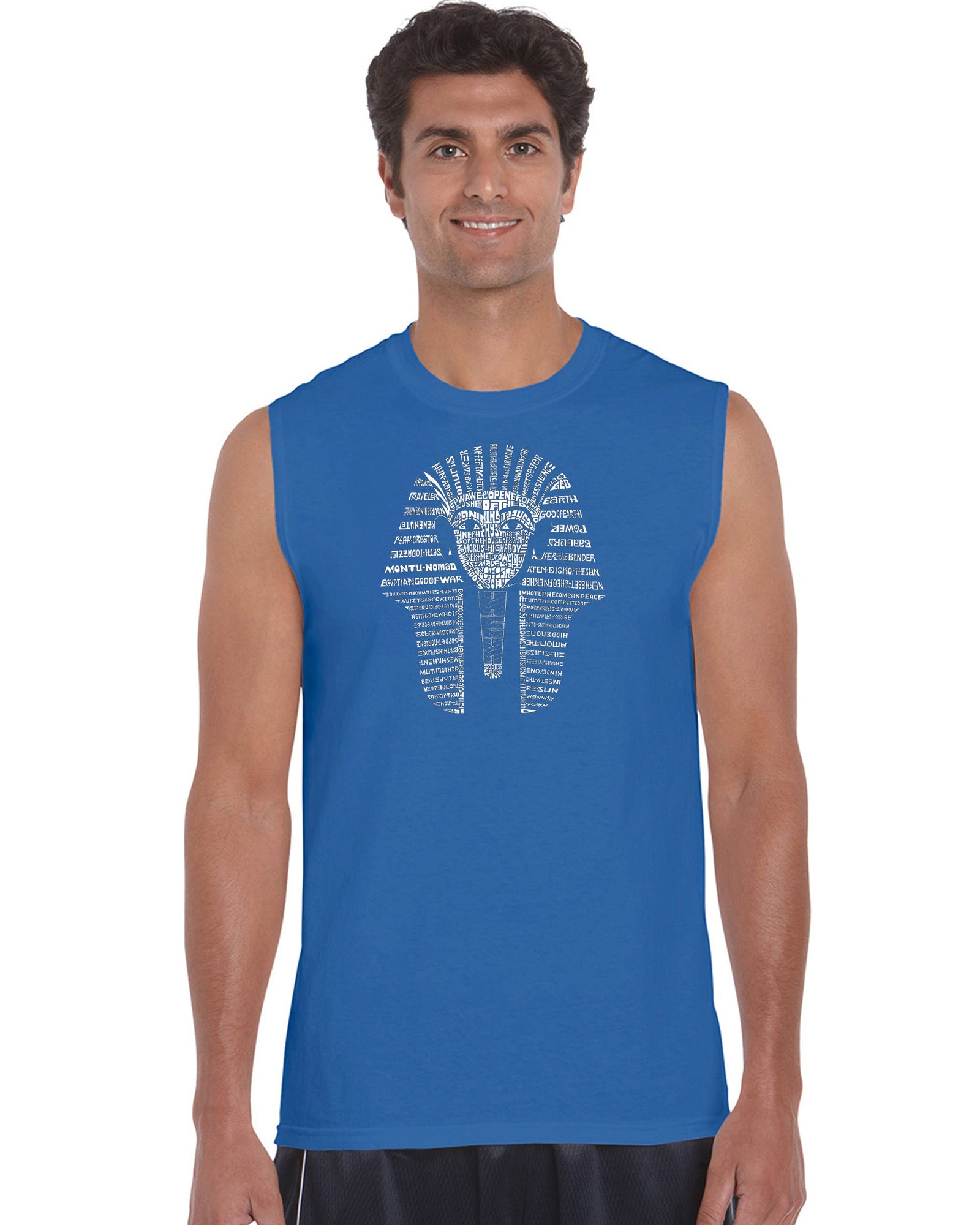 Men's Sleeveless T-shirt - KING TUT