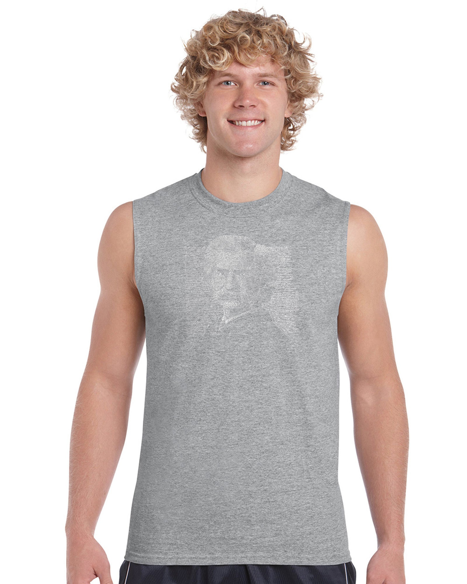 Men's Sleeveless T-shirt - Mark Twain