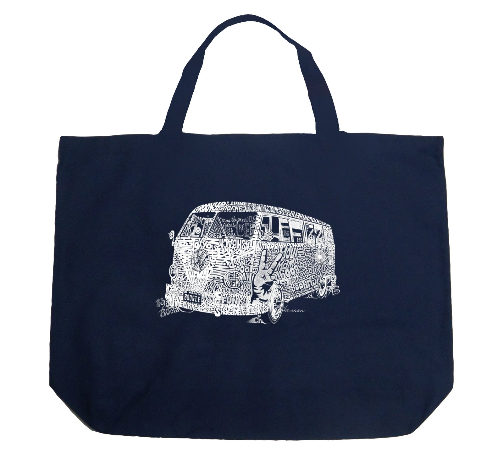 Large Tote Bag - THE 70'S