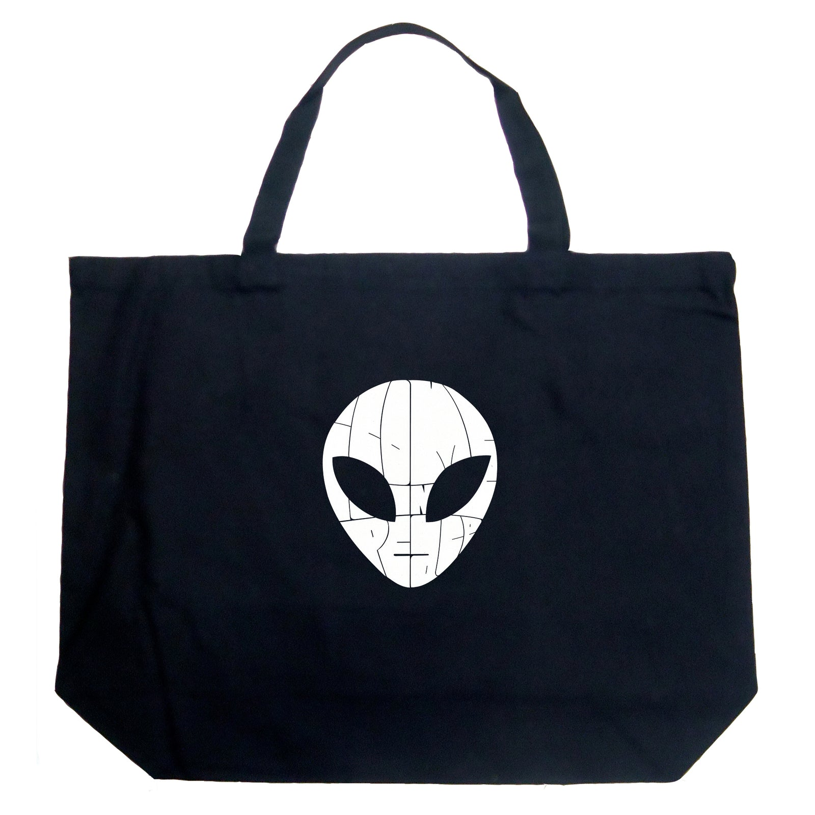 Large Tote Bag - I COME IN PEACE
