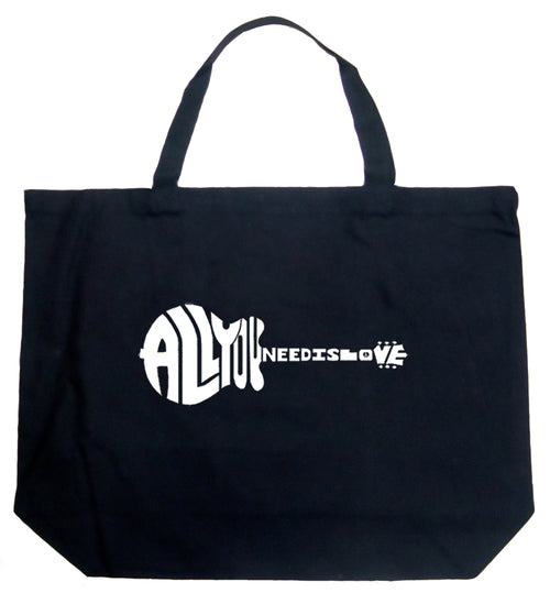 Large Tote Bag - All You Need Is Love