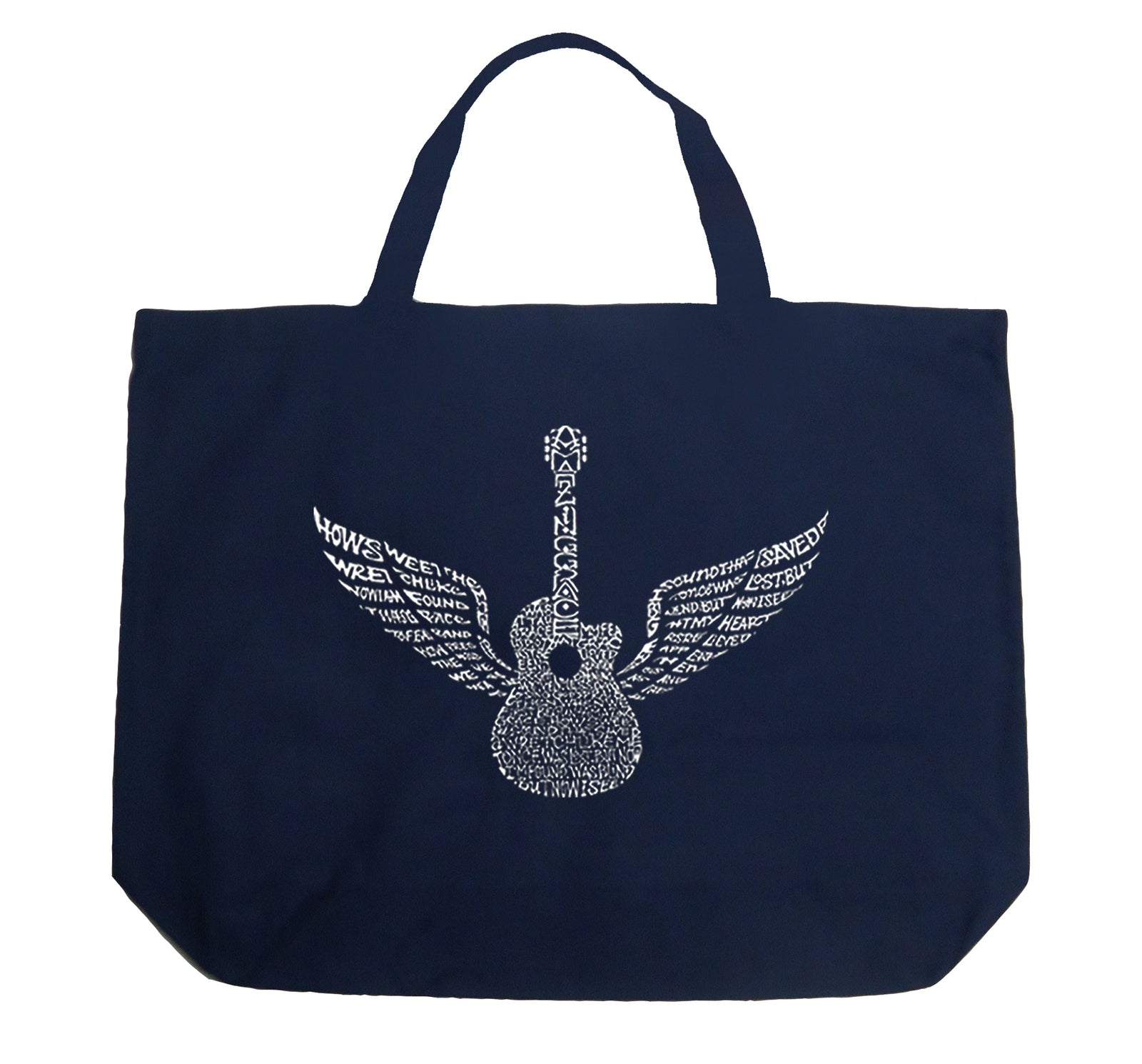 Large Tote Bag - Amazing Grace