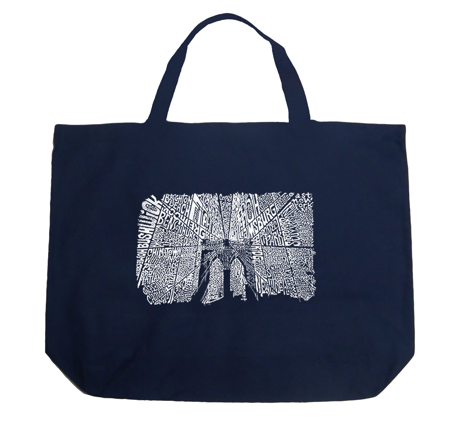 Large Tote Bag - Brooklyn Bridge
