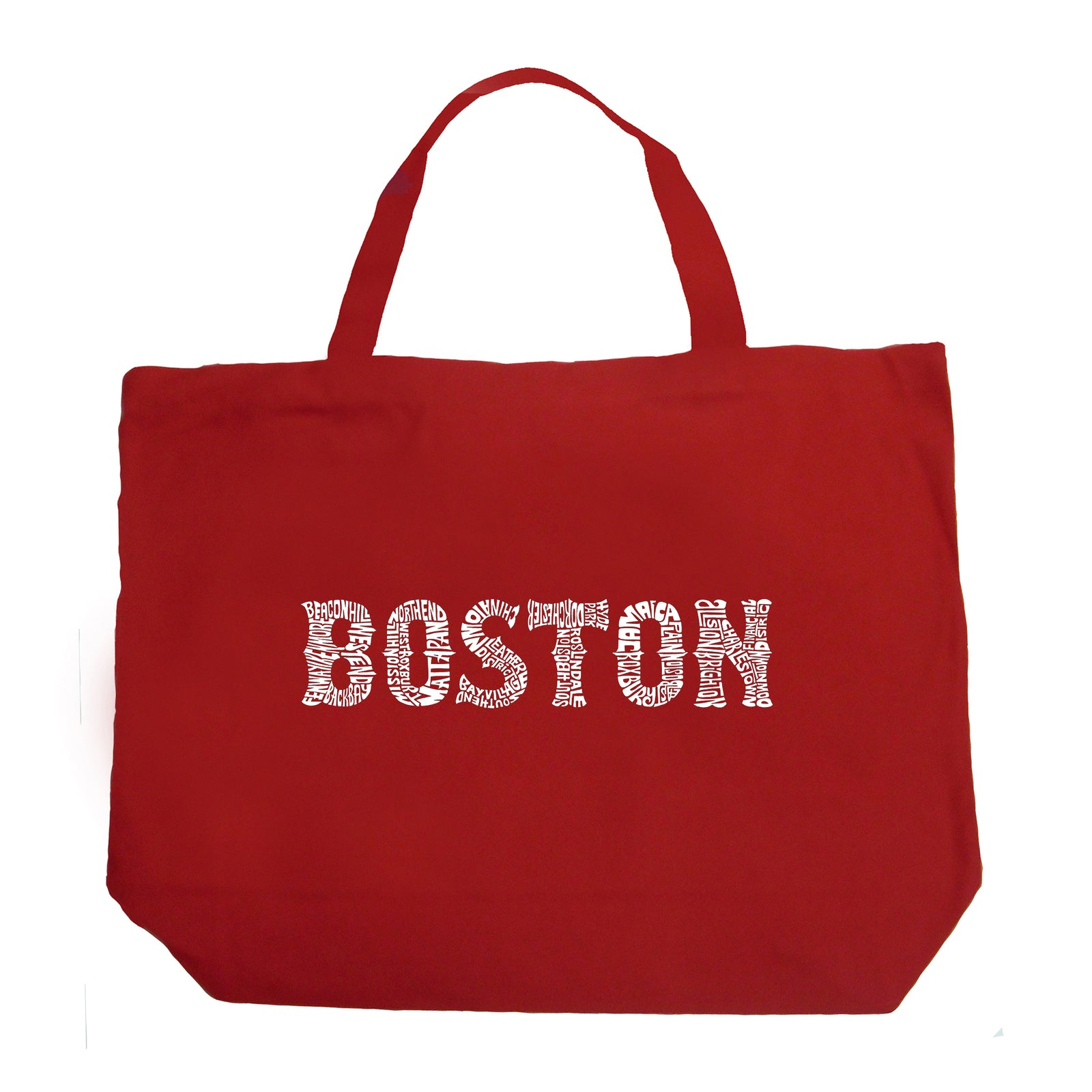 Large Tote Bag - BOSTON NEIGHBORHOODS