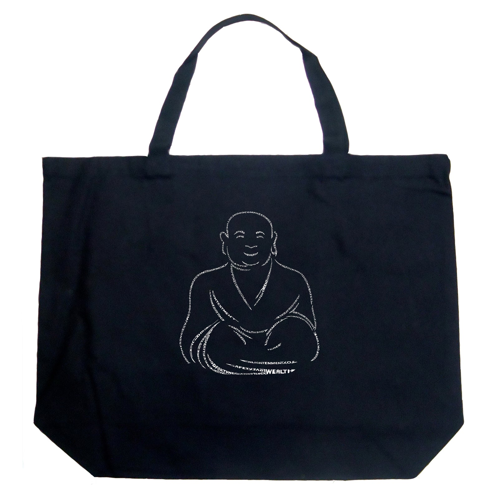 Large Tote Bag - POSITIVE WISHES