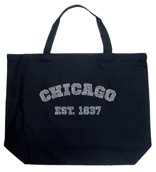 Large Tote Bag - Chicago 1837