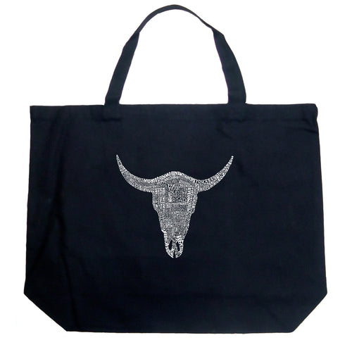 Large Tote Bag - COUNTRY MUSIC'S ALL TIME HITS