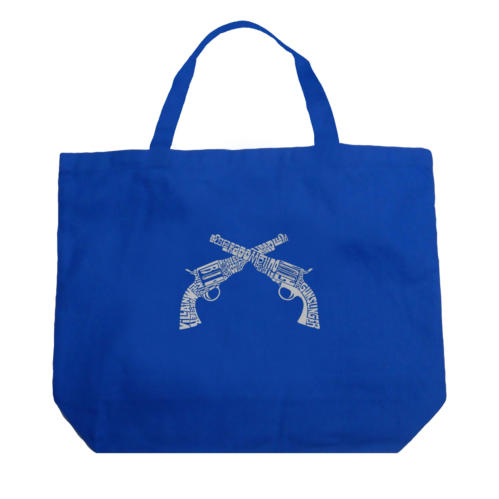 Large Tote Bag - CROSSED PISTOLS