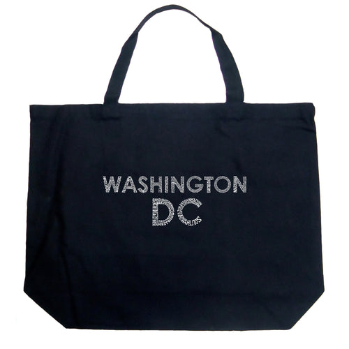 Large Tote Bag - WASHINGTON DC NEIGHBORHOODS