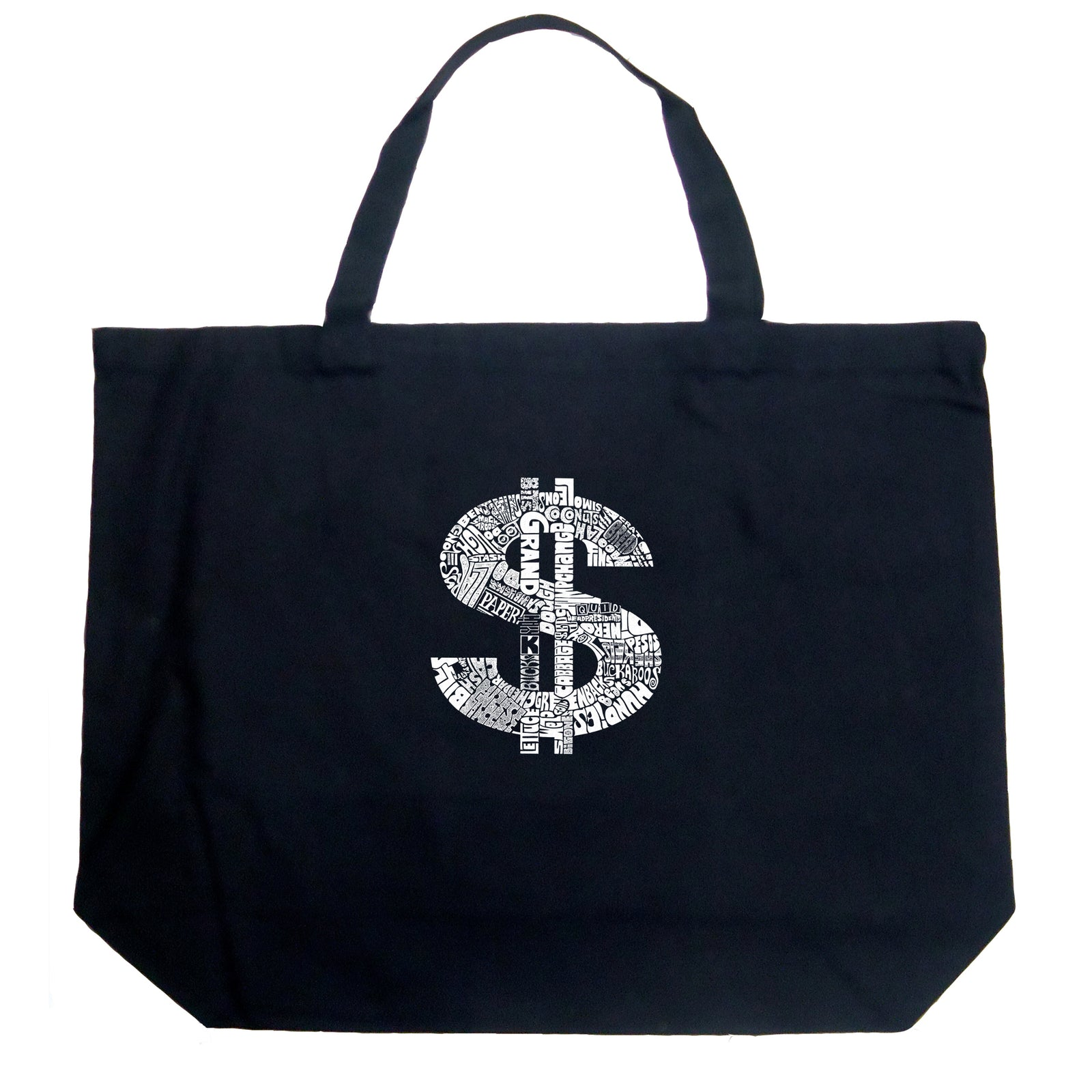 Large Tote Bag - Dollar Sign
