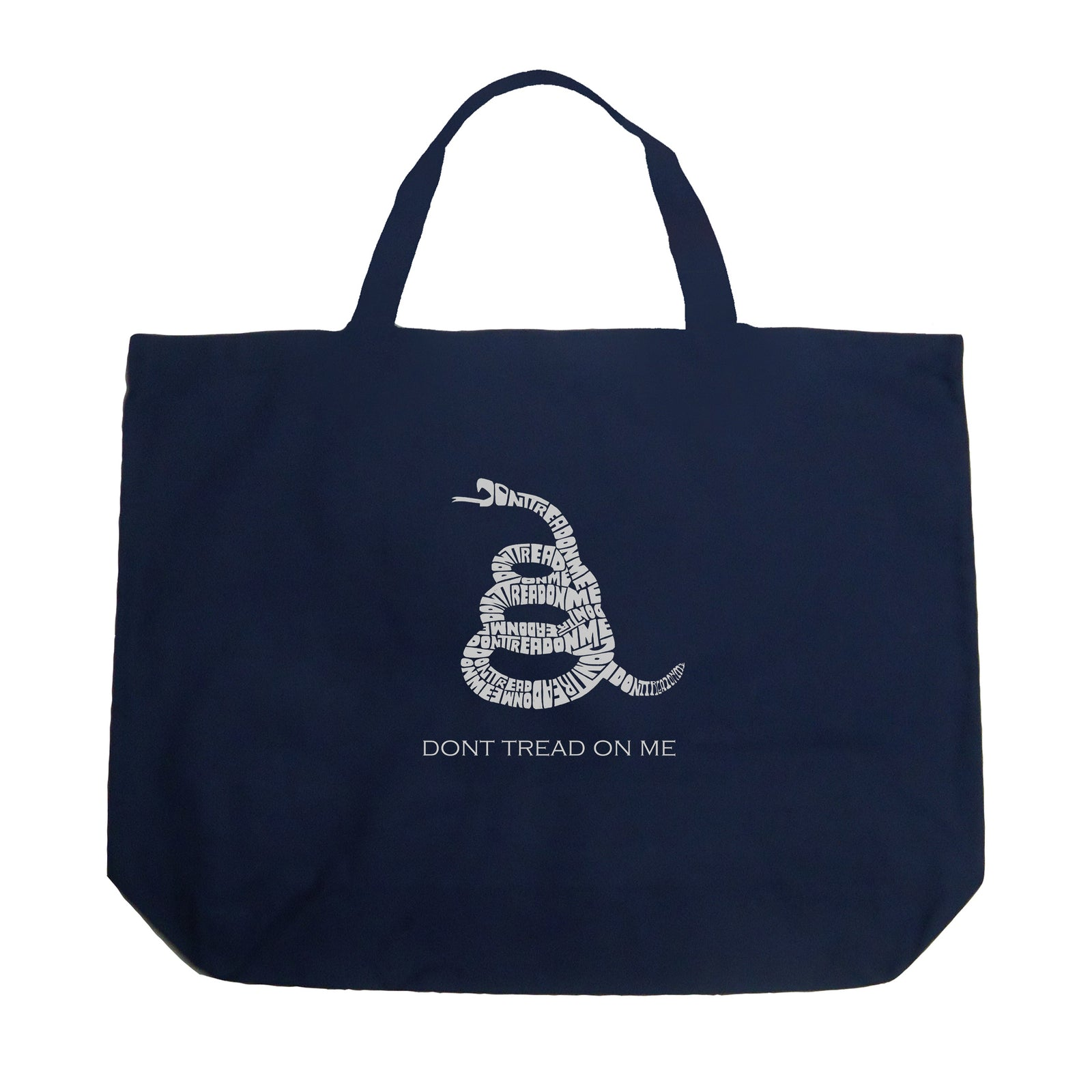 Large Tote Bag - DONT TREAD ON ME
