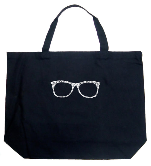 Large Tote Bag - SHEIK TO BE GEEK