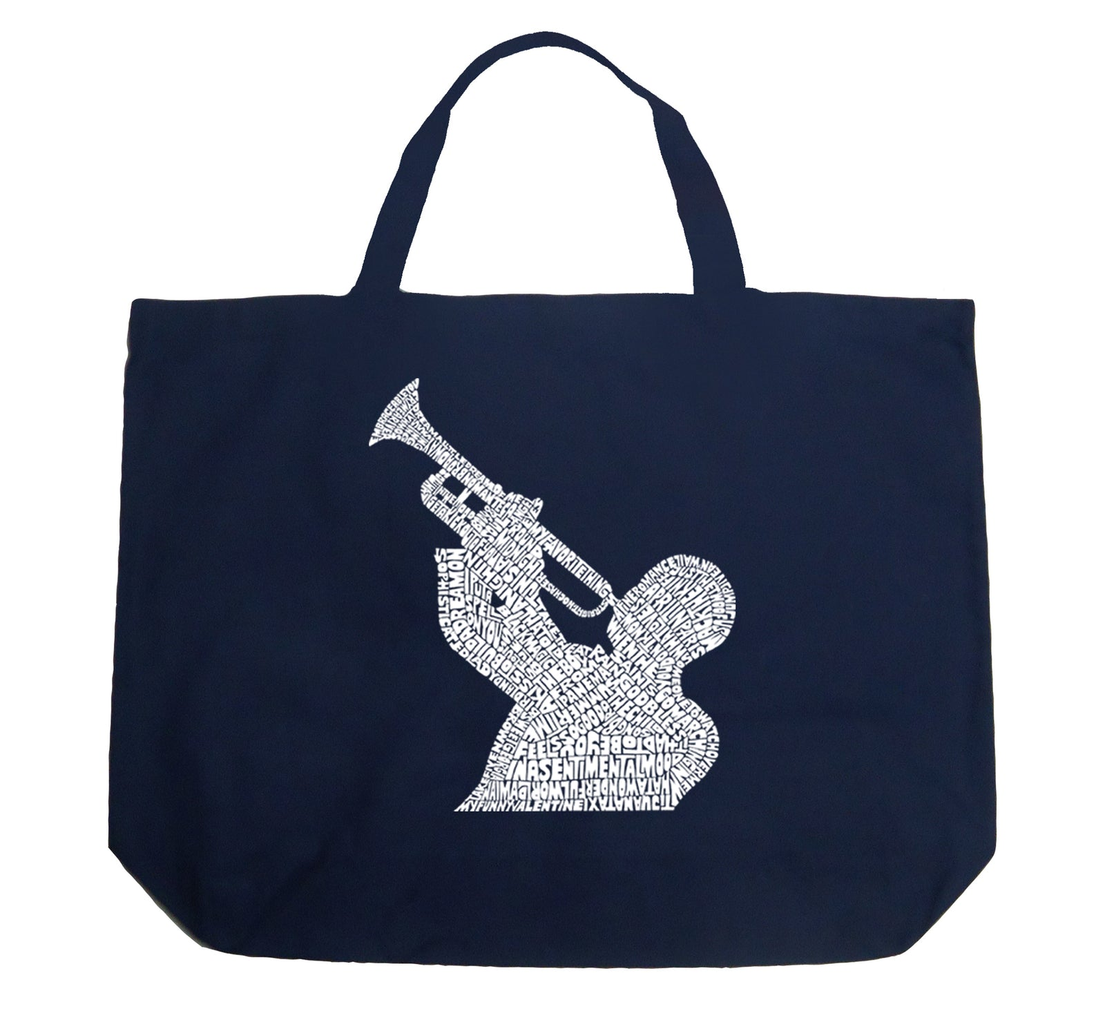 Large Tote Bag - ALL TIME JAZZ SONGS